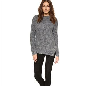 • Stylestalker • Immortals Zipper Sweater Gray Md